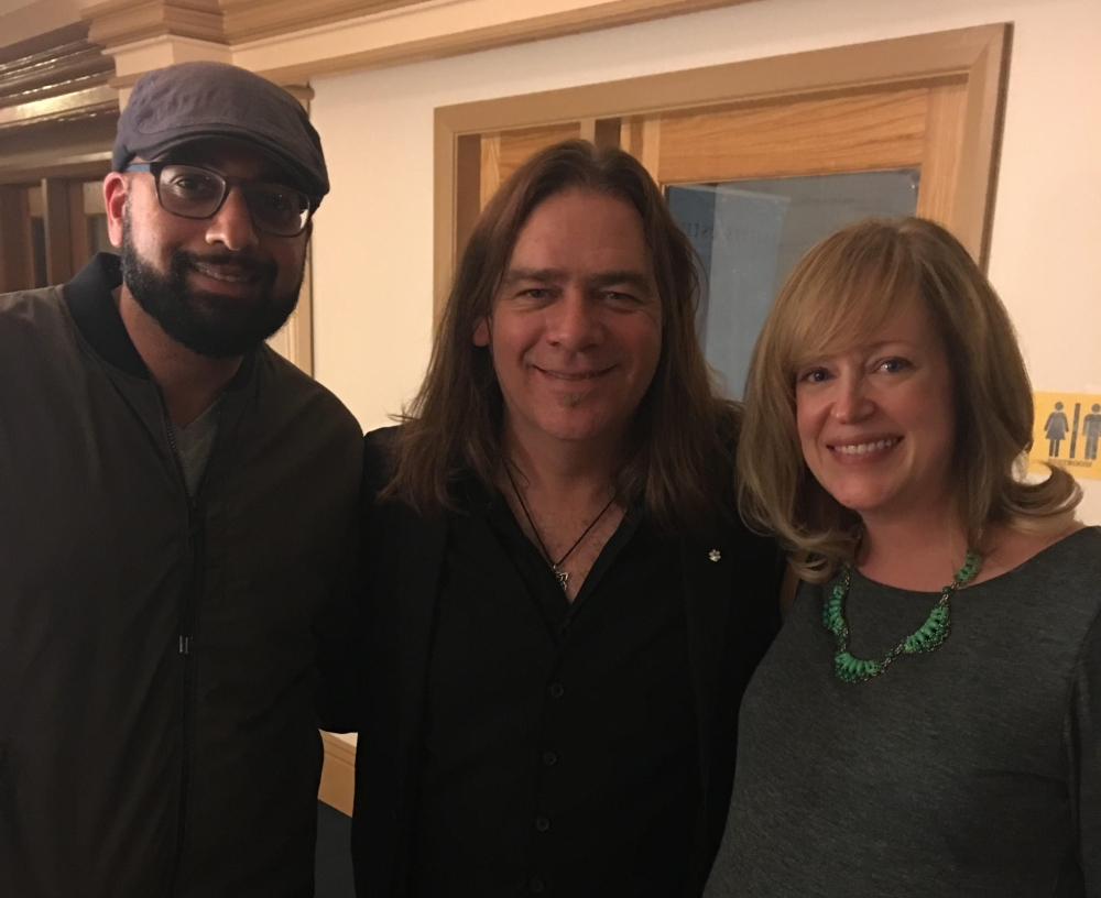 My husband and I with Alan Doyle