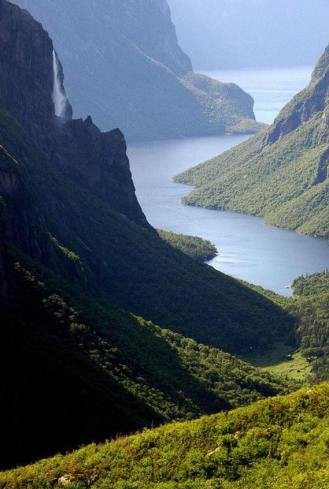 Gros Morne National Park and Western Brook Pond (photo credit: unknown)